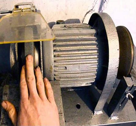 Электрический наждак своими руками из стиральной машинки: особенности изготовления, подготовка материала