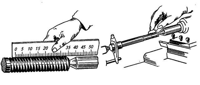 Как определить шаг резьбы: штангенциркулем, резьбомером