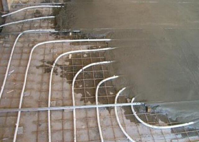 Толщина стяжки под тёплый пол водяной: последовательность работ и соблюдение правил