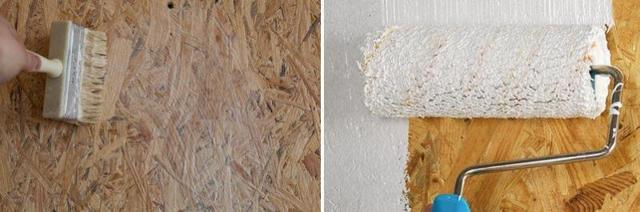 Чем покрасить ОСБ плиту внутри дома: как подобрать краску, загрунтовать, произвести отделку