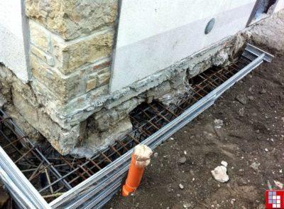 Фундамент под старый дом: ремонт основания у деревянной и кирпичной частной постройки своими руками