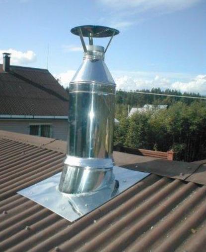 Установка камина с дымоходом: инструкция по монтажу своими руками, схема, видео и фото