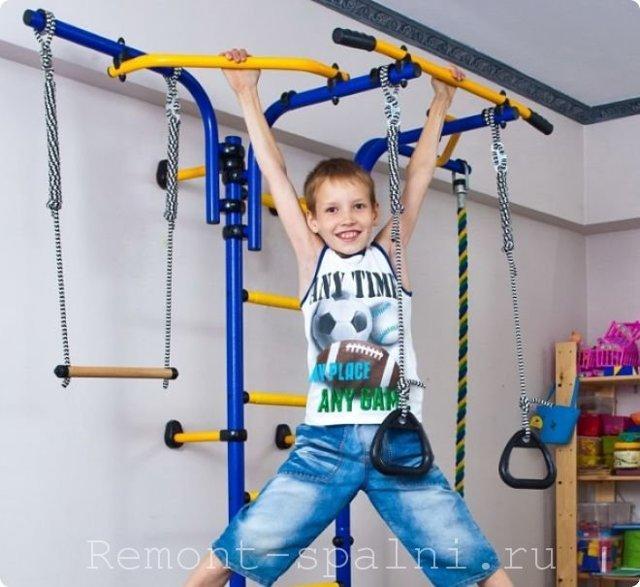 Спортивный уголок для детей в квартиру: собираем детскую развивающую площадку своими руками