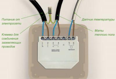 Подключение теплого пола: схема теплорегулятора, видео и электричество своими руками, инфракрасный правильный