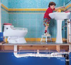 Разводка сантехники в ванной своими руками, полная инструкция